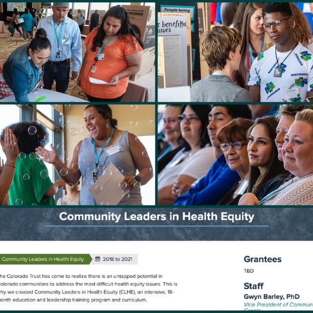 Image collage of CLHE program